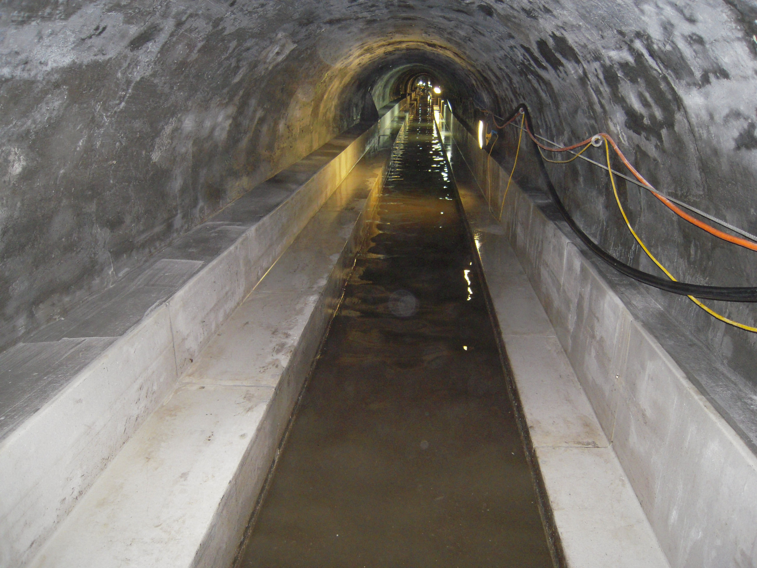 Energy Use In Sewage Canals Sewers